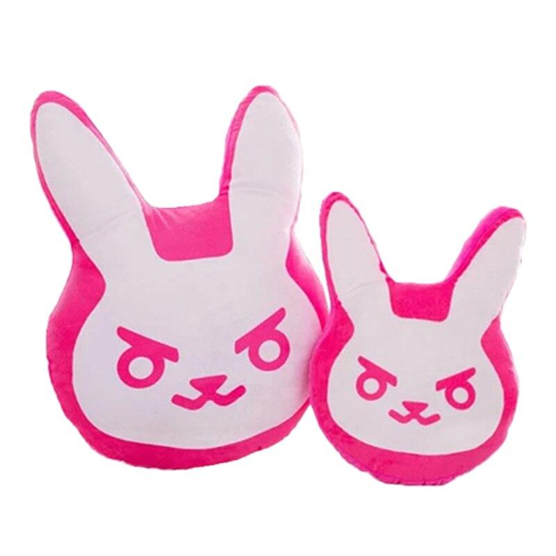 1 pc 35 cm/55 cm jeu de surmontres en peluche oreillers Pioneer Dva lapin en peluche oreiller coussin jouets doux animaux en peluche Cosplay enfants jouets