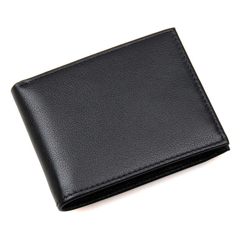 RFID anti-scan Leather Carteira Masculina Male Dollar Wallets Casual Black Wallet Cowhide Purse Wallet For Men Boys 2016 fashion brand ultra thin men wallet leather design male purse casual men wallets carteira masculina clutches dollar price
