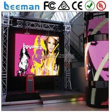 Leeman супер приталенный шкаф полноцветный из светодиодов на открытом воздухе прокат светодиодный дисплей экран P12 DIP водонепроницаемый прокат светодиодный дисплей экран