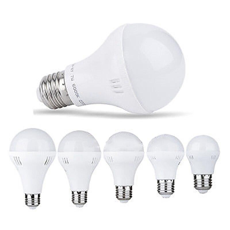 LED Lamp Bulb E27 Global LED Light Bulb 220V 3W 5W 7W 9W 12W For Home Office Energy Saving Warm Pure White