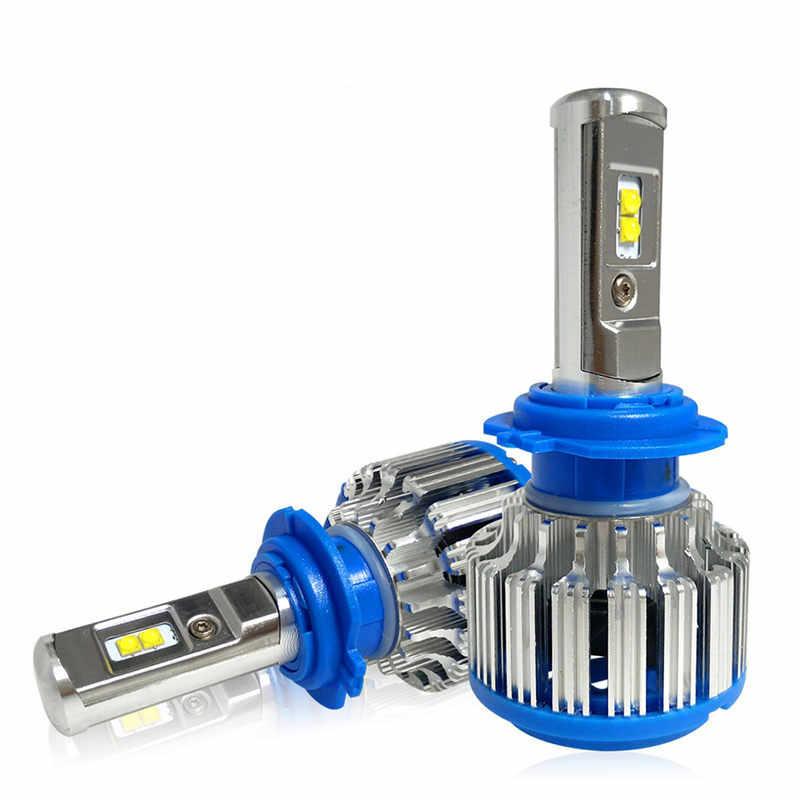 65 واط سيارة LED العلوي H7 H4 H8/H11 HB3/9005 HB4/9006 H1 H3 9012 H13 9004 9007 سيارة LED يوم الجبهة تشغيل مصباح إضاءة للضباب 7000lm