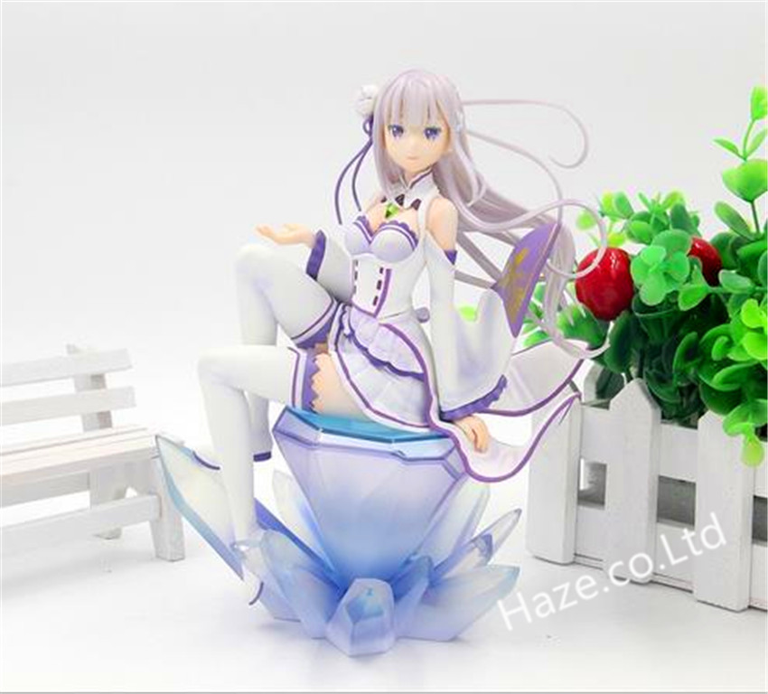 ФОТО re:life in a different world from zero emilia pvc action figure