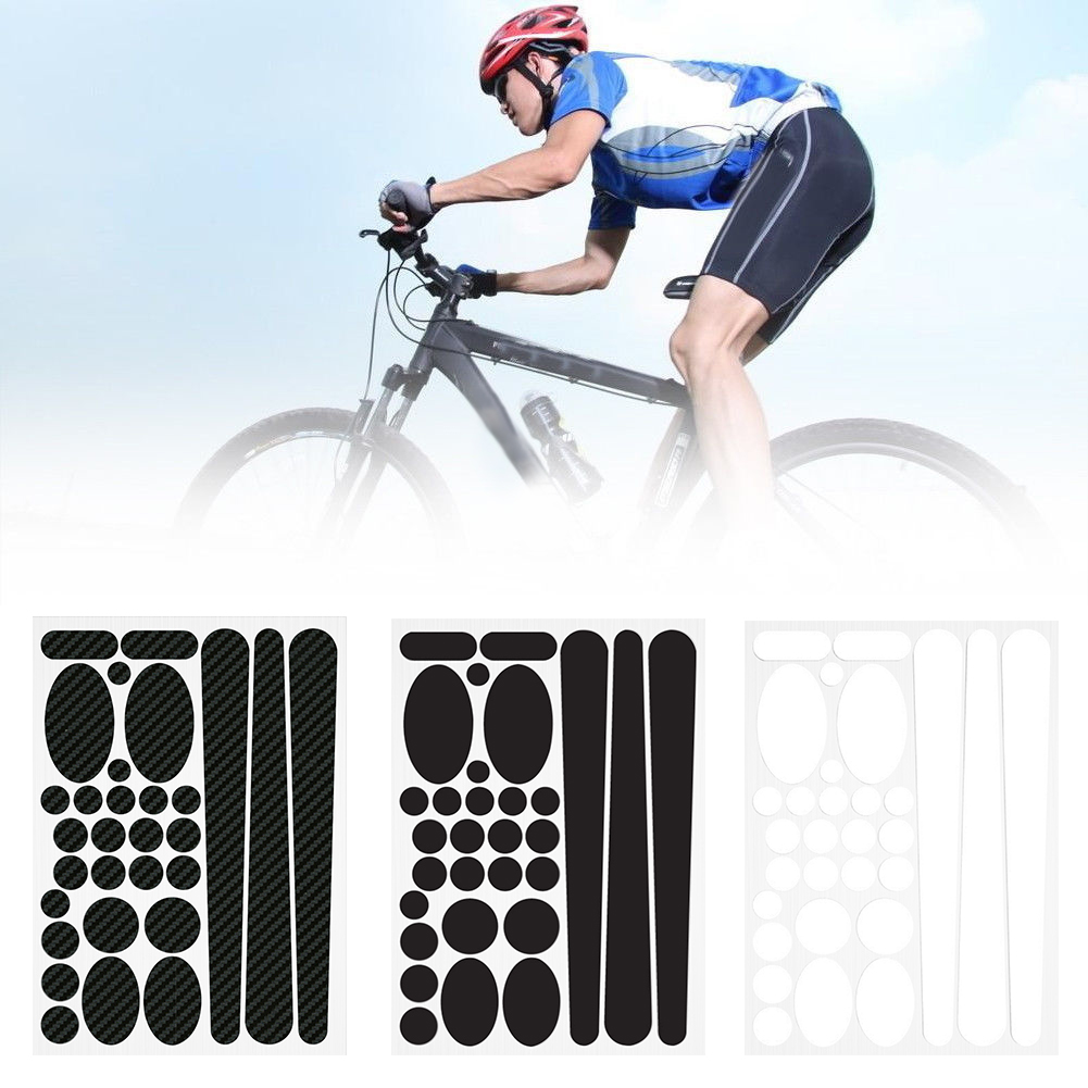 Cycling Bicycle Bike Chain Stay Frame Protector Cover Guard Sticker Paster Decal
