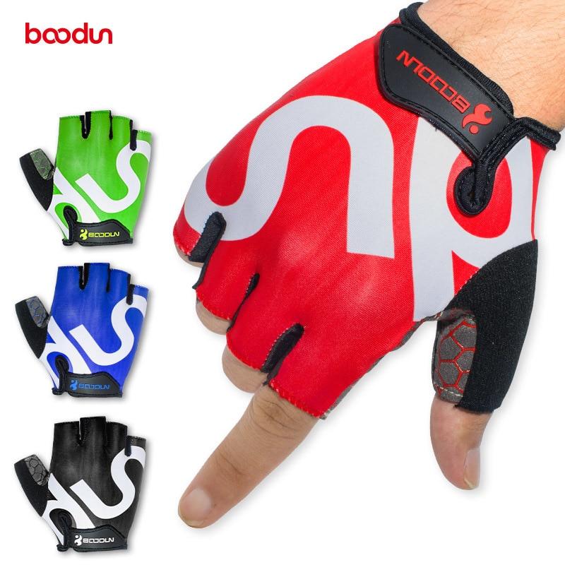 Summer Men Women Fitness Gloves Half Finger Breathable Elastic Anti-skid GYM Training Body Building Musculation Crossfit Gloves