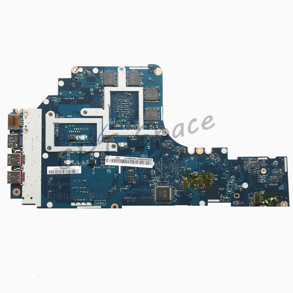 ZIVY2 LA-B111P motherboard for Lenovo Y50-70 laptop motherboard i7-4720 CPU  2G GTX960M original Test motherboard notebook