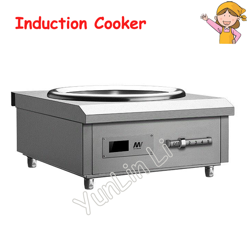 Induction Cooker Electromagnetic Stove Industrial Electric Frying Furnace Cooking Heat Food