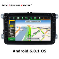 SMARTECH Car Multimedia For VW Passat B6 Golf 5 Polo Jetta 2 Din Android 6 0