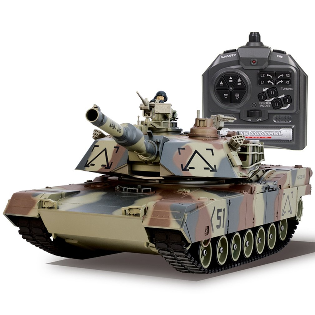 1/26 Scale Shooting BB Bullets Tank Set RC Military Car Remote Control Model Boy Toy Gift Vehicle with 360'Rotate Life Indicator baby toys rc tank boy toys amphibious tank 4ch 1 30 large rc tank toy remote control tank fire bb bullets shooting gift for kids