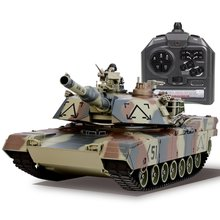 1/26 Scale Shooting BB Bullets Tank Set RC Military Car Remote Control Model Boy Toy Gift Vehicle with 360'Rotate Life Indicator