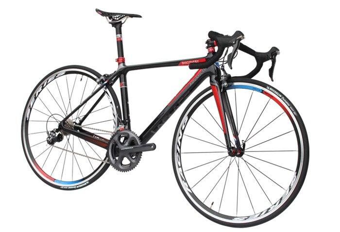 LAPLACE descubrimiento bicicleta de carretera cuadro de carbono + manillar + sil