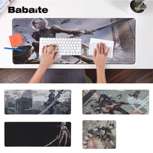 Babaite Vintage Cool NieR Automata YoRHa  Silicone large/small Pad to Mouse Game Free Shipping Large Keyboards Mat