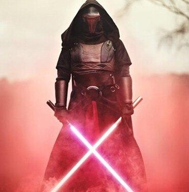 NUOVO 2 pz/set 148 cm La Forza Risveglia Kylo Ren LED lightsaber scalabile Cosplay Darth Vader action figure giocattoli bambola