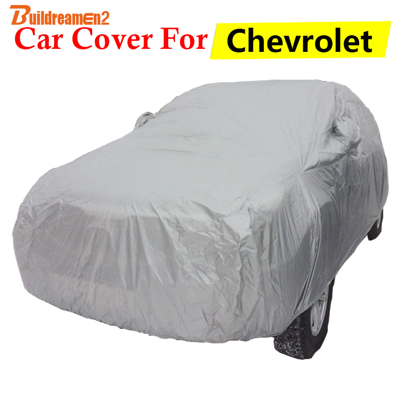 Buildreamen2 Car Cover Anti UV Sun Snow Rain Resistant Auto Cover For Chevrolet Rezzo Sonic Aveo