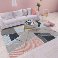 Geometric Modern Carpets For Living Room Home Nordic Carpet Bedroom Bedside Blanket Area Rug Soft Study Room teppich Rugs Floor