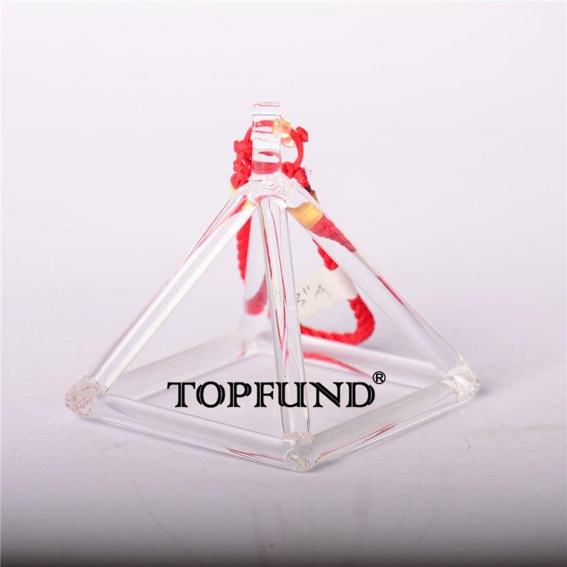TOPFUND Quartz Crystal Singing Pyramid 8'' - Perfect Healing Musical Instrument nature aventurine quartz crystal pyramid point healing