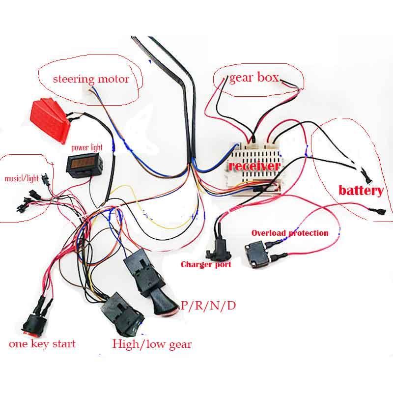 Circuit 12v Ride On Car Wiring Diagram