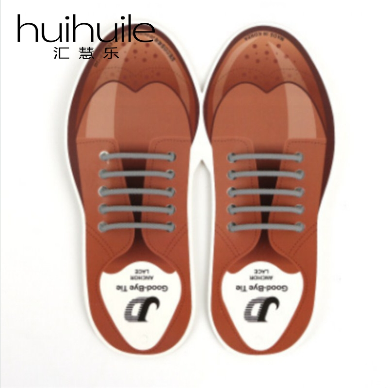 10Pcs/Set Business Leather Shoe Lcaes Black/Brown/Gray Shoelaces Easy To Clean&Waterproof No Tie Elastic Silicone Round 5cm сумка hidesign business fleming 03 fleming 03 brown