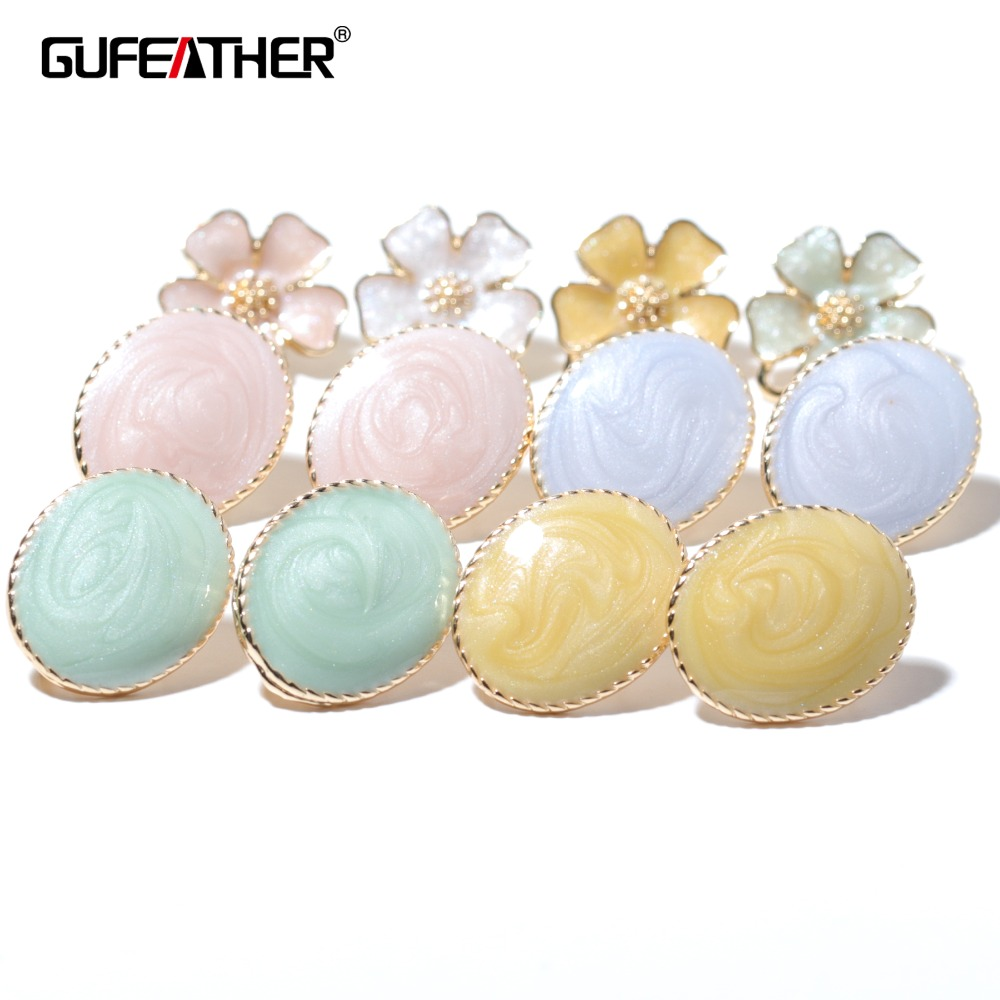 GUFEATHER M340,jewelry Accessories,jewelry Findings,accessory Parts,charms,diy Earrings,hand Made,stud Earrings,jewelry Making