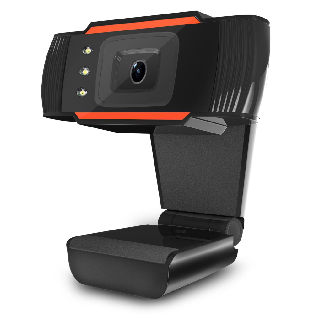 Image 5 - HXSJ 3LED HD webcam 480P PC camera with absorption microphone MIC night vision for Skype PC camera USB webcam-in Webcams from Computer & Office
