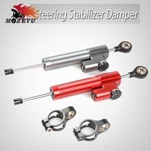 For KTM Duke 390 125 690 200 250 990 1290 Adventure R SMC Motorcycle Damper Steering Stabilize Safety Control Aluminum Universal