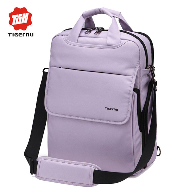 ФОТО 2017 New Style Tigernu Brand School Bag for Teenagers Nylon 12.1 14 Inch Notebook Laptop Backpack for Computer Women backpack