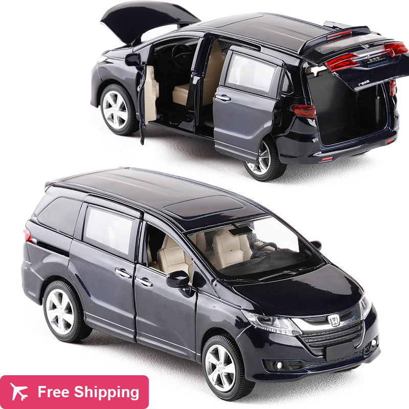 Brand New 1:32 Japan Odyssey Alloy Diecast MPV Car Model Toys For Kids Christmas Gifts Collection Original Box Free Shipping
