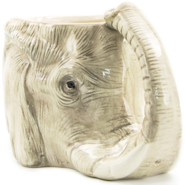 c718b8a107b 1Piece Wildlife Animal Coffee Mug Wild Elephant Adventure 3D Elephant Mug  Creative Ceramic Elephant Cup Adorable Office Mug