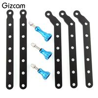 Universal Aluminum Extension Arm Mount W Knob Screw Set Fit For Gopro Hero 2 Camera Cam