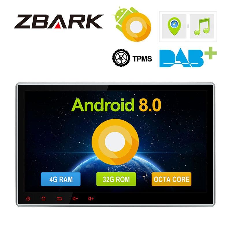 2 Din 10 1''Android 8 0 Octa Core Universal Car Radio
