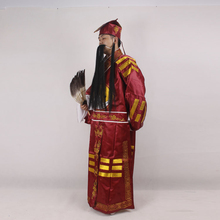 Chinese Operas Robe + Hat Peking Opera costumes Three Kingdoms Periods Zhu Geliang Bagua Tai Chi Wudang Daoist Drama Outfit