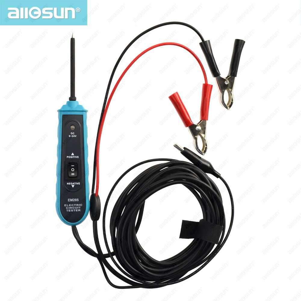 automotive electric circuit tester car electrical system tools for continuity voltage cable lamp short open tester all [ 1000 x 1000 Pixel ]