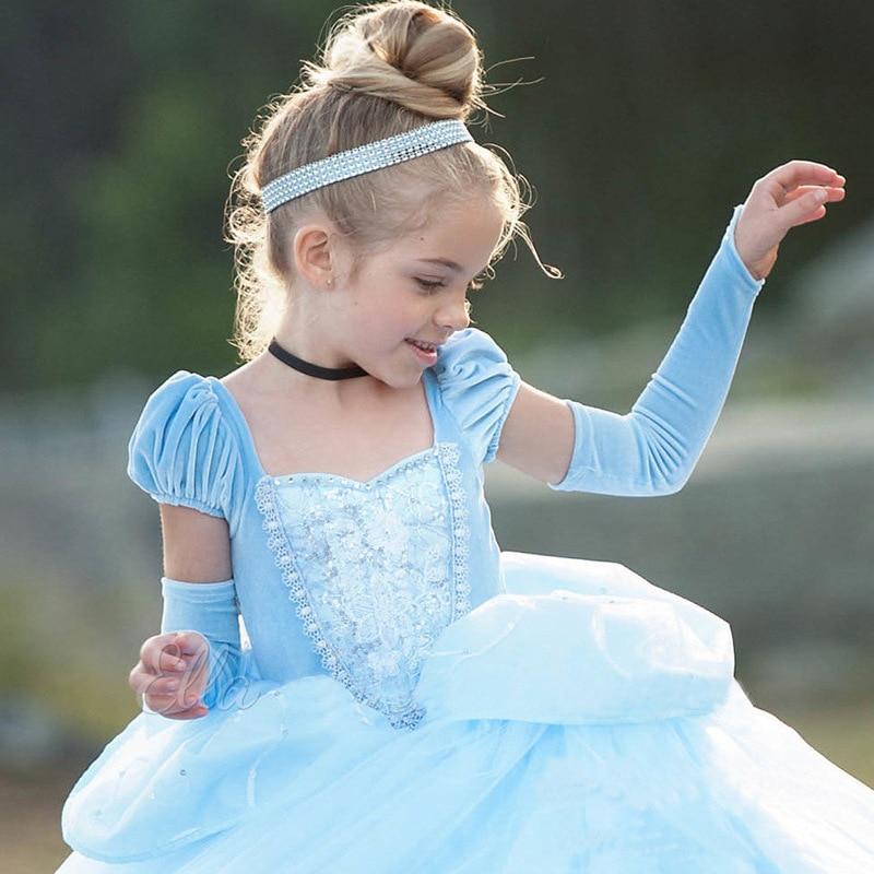 HTB1O96LwmtYBeNjSspkq6zU8VXai Unicorn Dress Birthday Kids Dresses For Girls Costume Halloween Christmas Dress Children Party Princess Dresses Elsa Cinderella