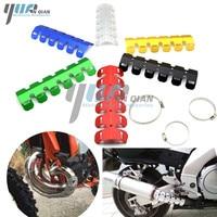 YUANQIAN Motor Exhaust Muffler Pipe Heat Shield Cover Guard FOR Honda CB 599 919 400 CB600