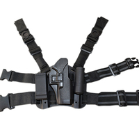 Blackhawk CQC Leg Holster Platform Tactical Combat Hunting Gun Thigh Holster Kit Platform For Glock 17