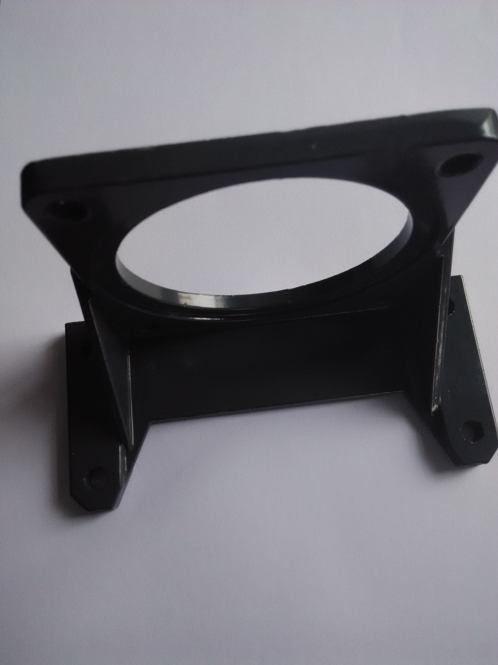 Iron Flange for DC motor 80x80mm mount Industry & Business Mechanical Parts & Fabrication Services Flanges
