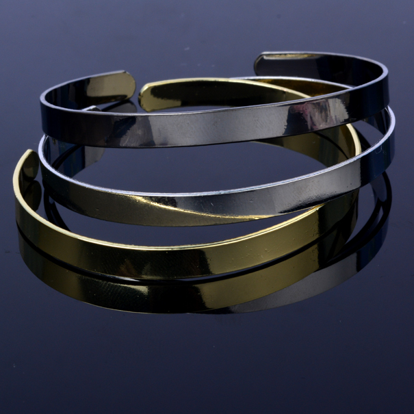 3pieces Wholesale New arrival fashion women bangles high quality brass bangle free shipping