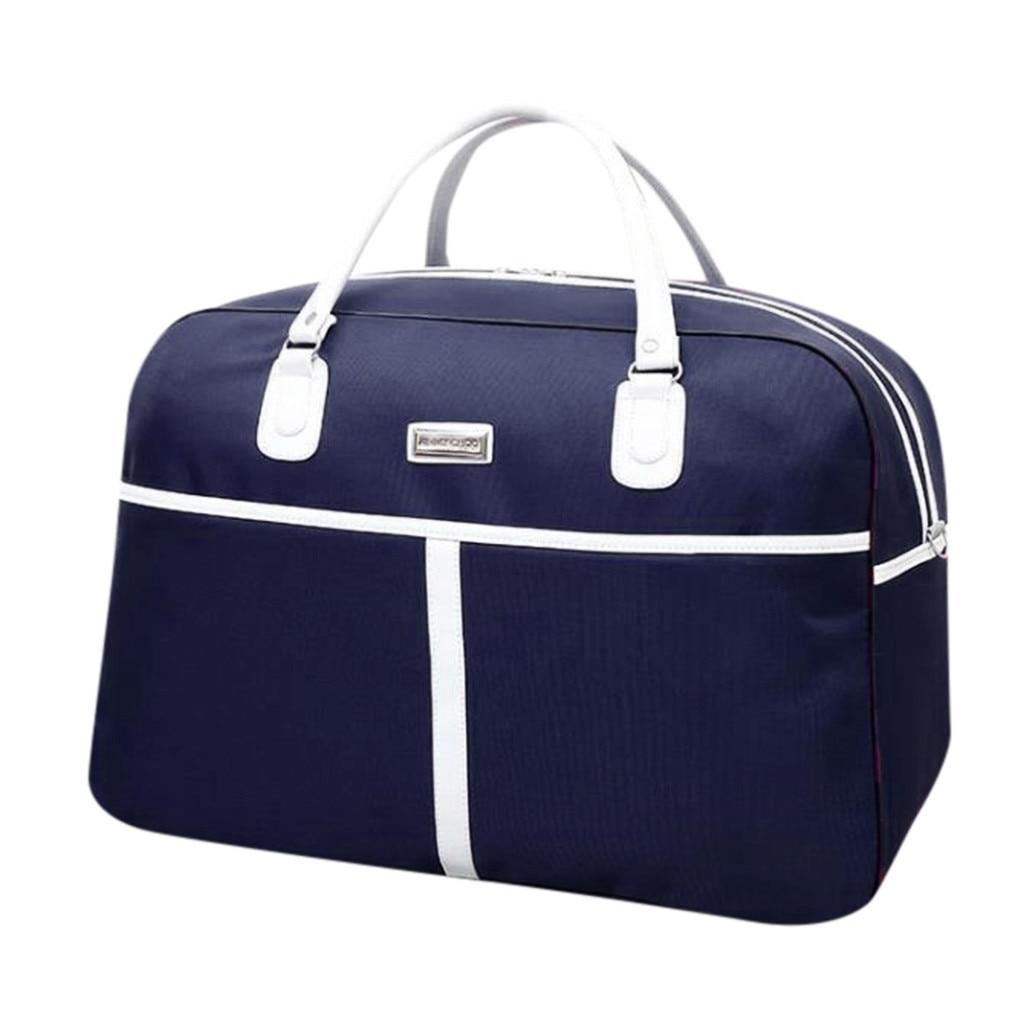 2019 New Large Capacity Fashion Travel Bag Man Women Designer Simple Luxury Sport Gym Bag Carry On Luggage Hand Bag