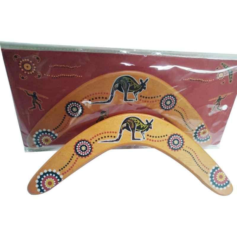 Спорт на открытом воздухе деревянный Профессиональный Бумеранг Дартс назад v-образная Дартс игрушка для собаки, летающий диск для детей подарок