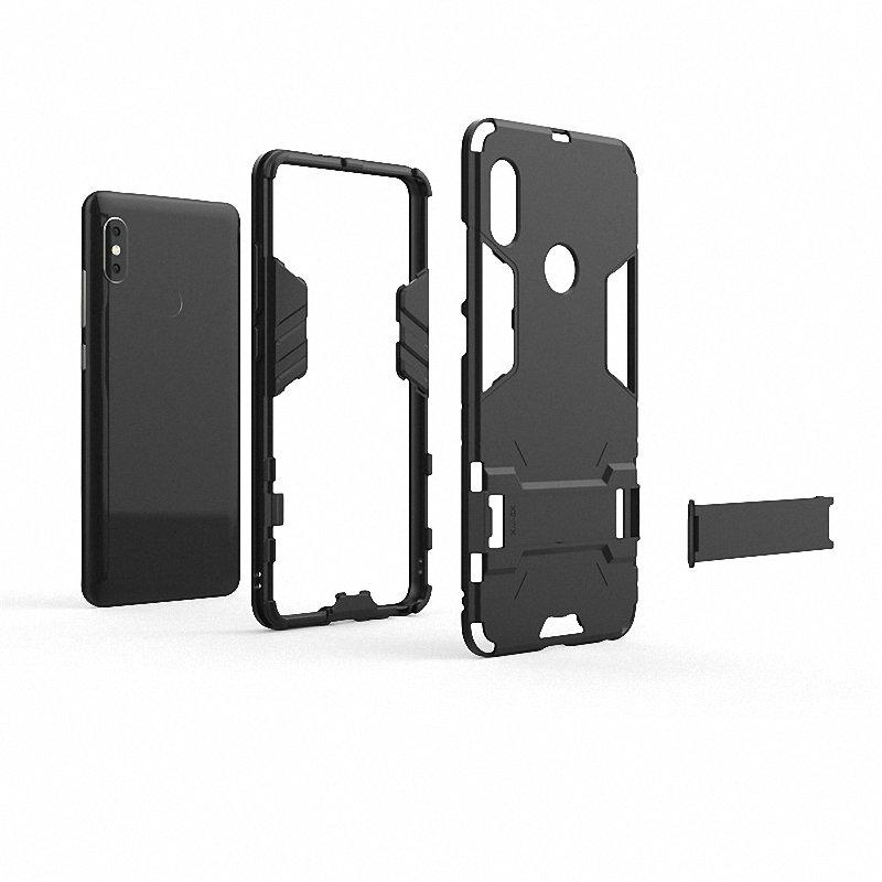 size 40 7d2f9 66754 For Xiaomi Redmi Note 5 Pro Shockproof Hard Phone Case For Xiaomi Redmi  Note 5 AI Dual Camera 32GB 64GB Armor Case Back Cover