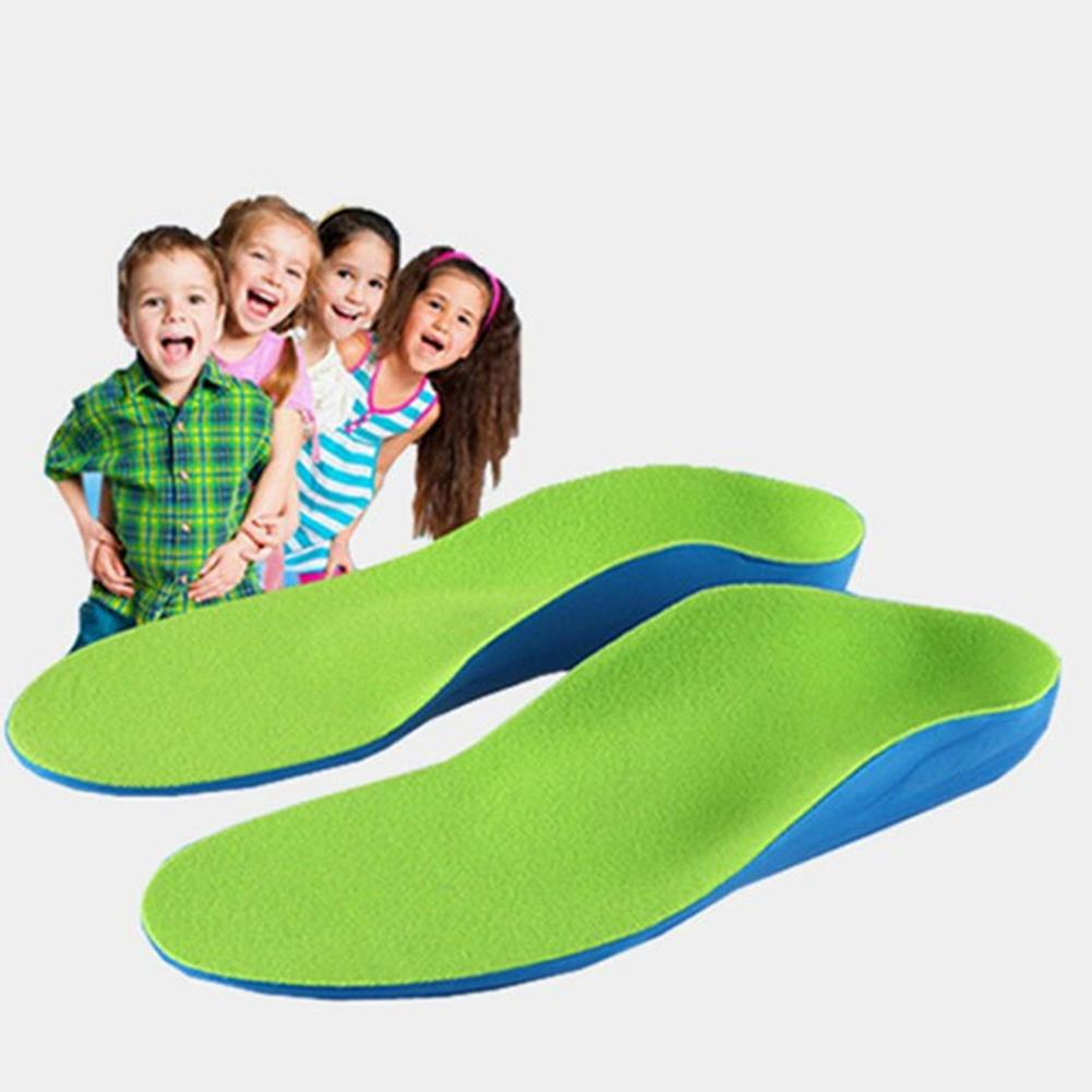 Kids Flatfoot Orthotics Insole X O Legs Arch Support Cushion Valgus Corrector hot sale