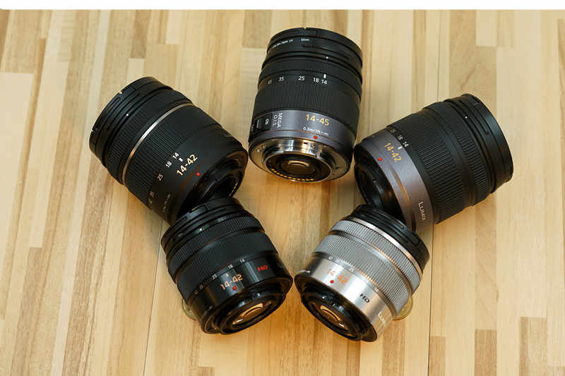 Б/у PANASONIC LUMIC Panasonic MIX G X Vario power Zoom Lens, 14-42 мм, F3.5-5.6 ASPH