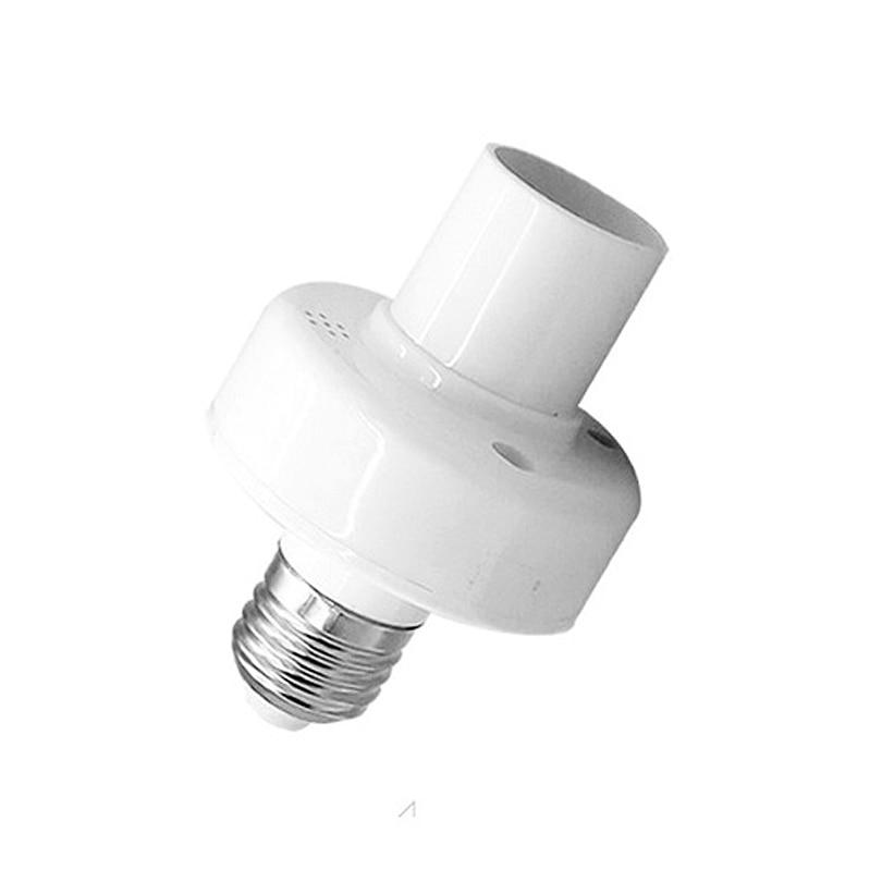 Sonoff slampher smart home wifi light bulbs holder 433MHz E27 rf wireless light holder remote control led lamp via eWelink App