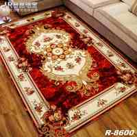 HUAMAO 2017 New European Modern Household Customize Carpets Sitting Room Bedroom Tea Table Rugs Luxury Rectangular