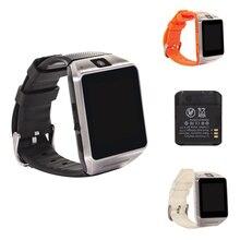 บลูทูธสมาร์ทนาฬิกานาฬิกาข้อมือGV08สนับสนุนซิมการ์ดสำหรับSamsung S2/S3/S4/Note2/3 HTCโซนี่โทรศัพท์A Ndroidสมาร์ทโทรศัพท์นาฬิกา