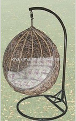egg chairs for sale how to paint an upholstered chair hot sg jha 178e rattan hanging in patio swings from