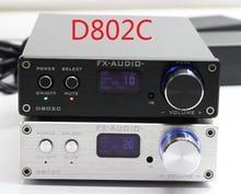 FX-Audio D802C Bluetooth@3.0 Pure Full Digital Audio Amplifier Input USB/RCA/Coaxial/Optical/BT 24Bit/192KHz 80W+80W DC32V/5A