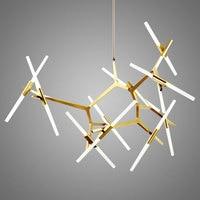 Modern Glass Pendant Light Nordic Branches Dining Room Kitchen Light Designer Hanging Lamps Avize Lustre Lighting