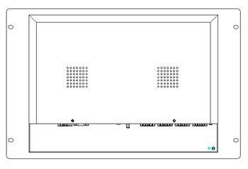 Ordinateur De Montage En Rack | Pc De Panneau De Bâti De Support De 6U, CPU De I5-3317U De Noyau, LCD De 15 Pouces, 4 GB DDR3, 500 GB HDD, 4 * RS232, Pc Industriel De Panneau