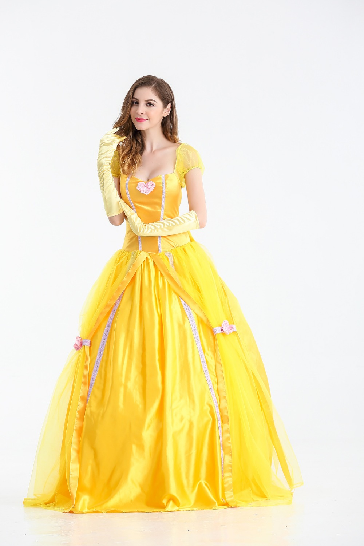 Принцесса в желтом платье это