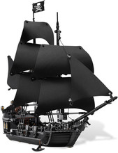804pcs New LEPIN 16006 Pirates of the Caribbean The Black Pearl Building Blocks Set Minifigures Compatible with legoe